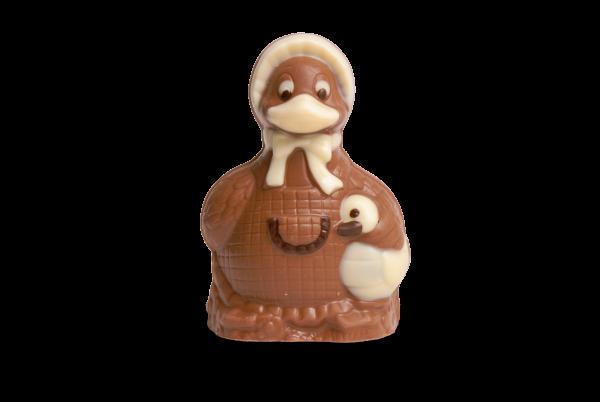 Schokoladenente mit Kind