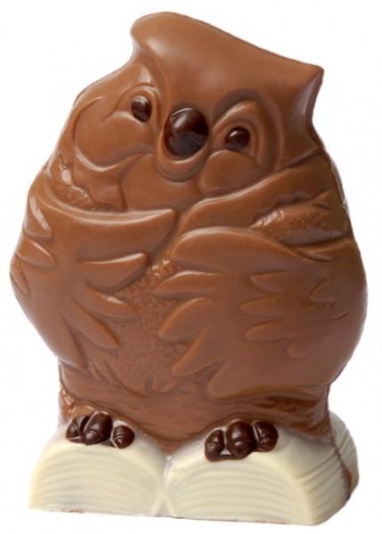 Eule aus Schokolade
