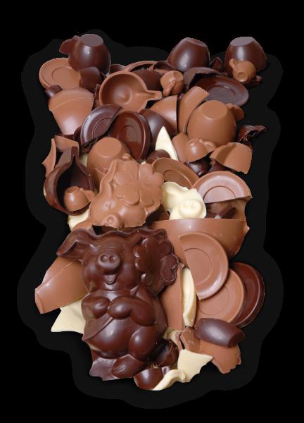 Schokoladenbruch Vollmilch 200g