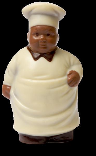 Koch aus Schokolade