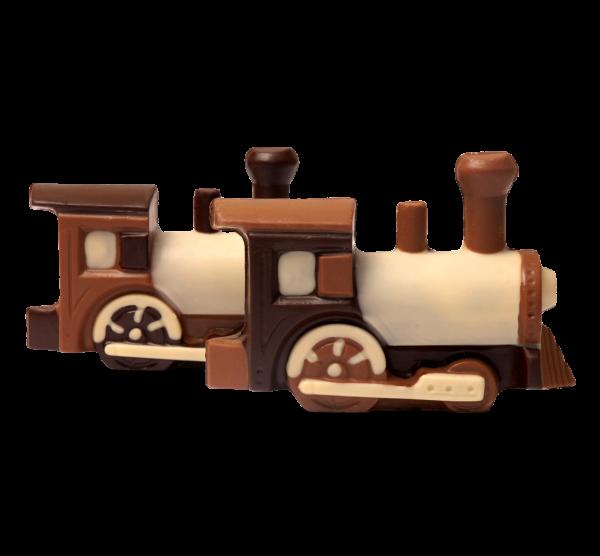 Lokomotive aus Schokolade