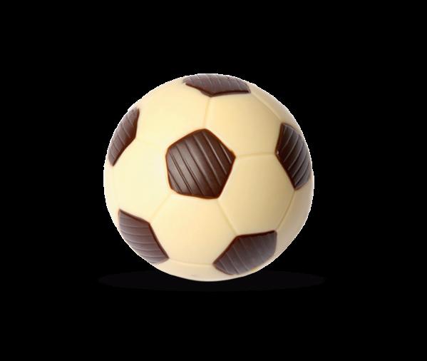 Fußball klein aus Schokolade