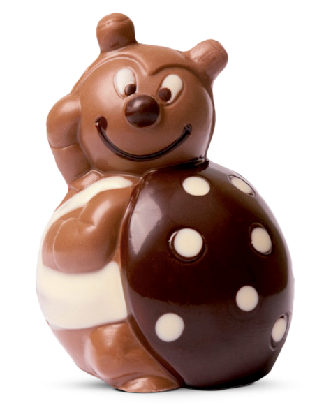 Marienkäfer aus Schokolade